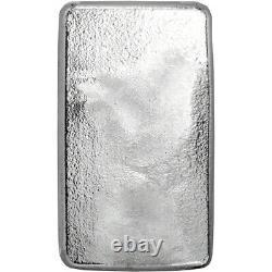 10 oz Silver Bar CNT Eagle Design. 9999 Fine Sealed