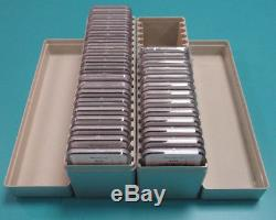 1986-2018 999 Silver American Eagle Set MS 69 NGC Brown Label Complete Set of 33