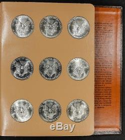 1986 2018 American Eagle Silver Dollar Complete Set Brilliant White Gem Coins