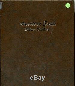 1986 2019 American Eagle 1 oz Silver Dollar Set Collection Dansco Album RW635