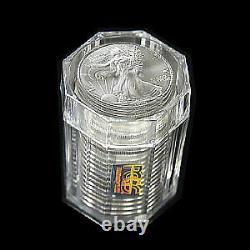 1986 20-Coin Silver American Eagle Sealed Tube PCGS SKU#58701