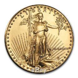 1987 1/2 oz Gold American Eagle BU (MCMLXXXVII) SKU #4717