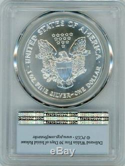 1993 $1 Silver Eagle PCGS MS 70 FIRST STRIKE PCGS Value 35k POP 1