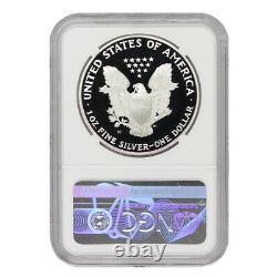 1995-W $1 Silver Eagle NGC PF70UCAM Ultra Cameo American Proof coin KEY DATE