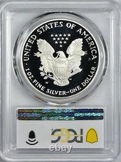 1995 W American Silver Eagle PCGS PR68 Deep Cameo Blast White