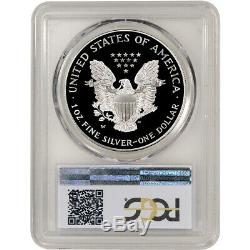 1995-W American Silver Eagle Proof PCGS PR69 DCAM