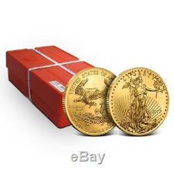 1 oz Gold American Eagle Coin Random Dates/Years (Our Choice) Gem BU