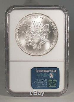 2000 U. S. $1.00 Silver Eagle NGC MS-70