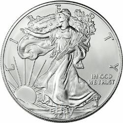 2013 American Silver Eagle Roll 20 Troy Ounces. 999 Pure Choice BU