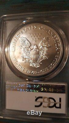 2015 P Silver American Eagle 79,640 Philadelphia Mint Graded Gem BU