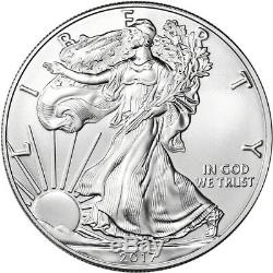 2017-(P) American Silver Eagle NGC MS70 First Day Issue 1st Label