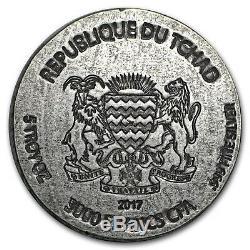 2017 Republic of Chad 5 oz Silver Queen Nefertiti SKU#155130