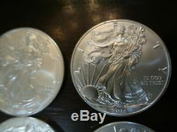 2018 Roll of 20 Silver American Eagle 1oz American Silver Eagles $1 Coins