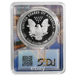 2018-S Proof $1 American Silver Eagle PCGS PR70DCAM First Strike San Francisco F
