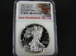 2018 S Proof Silver American Eagle, Limited Edition Set NGC pf 70 Ucam First Day