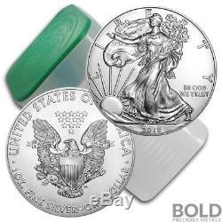 2018 Silver 1 oz American Eagle BU (20 Coins)