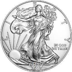 2018 Silver American Eagle BU 10pc