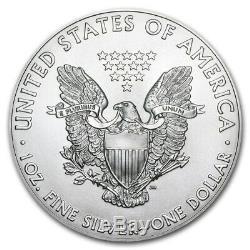 2019 $1 Silver American Eagle 1 oz. BU 1 Tube (20 coins)