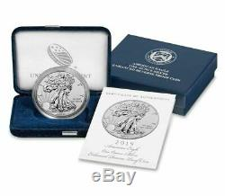 2019 American Eagle One Ounce Silver Enhanced Reverse Proof Coin 19XE PRE-SALE