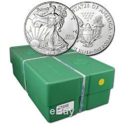 2019 American Silver Eagle 1 oz $1 BU Sealed 500 Coin Monster Box