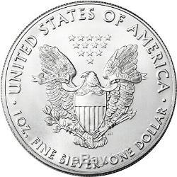 2019 American Silver Eagle 1 oz $1 BU Ten 10 Coins