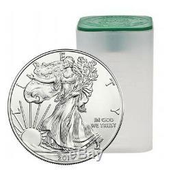 2019 American Silver Eagle Tube (20 Coins, BU)