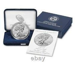 2019-S American Eagle One Ounce Silver Enhanced Reverse Proof Coin