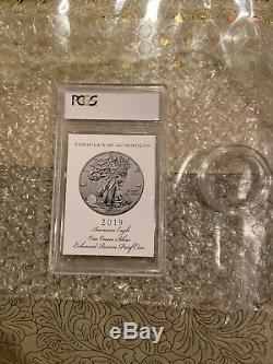 2019 S American Eagle One Ounce Silver Enhanced Reverse Proof Coin Pr69 Pcgs