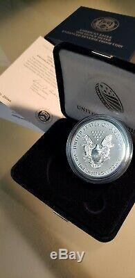 2019-S American Eagle One Oz Silver Enhanced Reverse Proof Coin