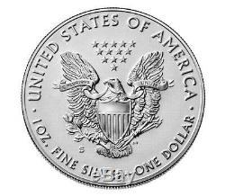 2019 S American Eagle Silver Enhanced Reverse Proof RAREST SILVER EAGLE EVER