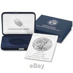 2019-S Enhanced Reverse Proof $1 American Silver Eagle / COA #00004 Signed PCGS