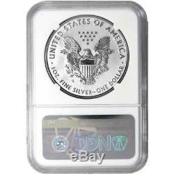 2019-S Enhanced Reverse Proof $1 American Silver Eagle / COA #00068 Signed NGC P