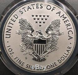 2019 S Enhanced Reverse Proof Silver Eagle Pcgs Pr70 Mercanti David Ryder 00005