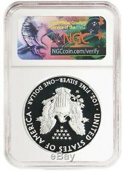 2019 S Silver Eagle Proof NGC PF70 Ultra Cameo Chicago ANA Releases
