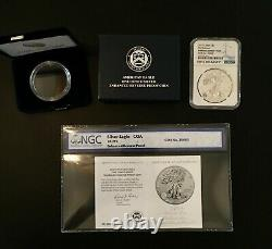 2019 S Silver Eagle Reverse Enhanced Ngc Pf 70 First Releases 4757932-002