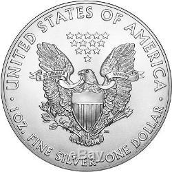 2019 Silver American Eagle BU 20pc Tube