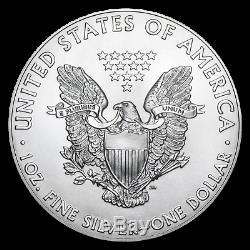 2020 1 oz Silver American Eagles (20-Coin MintDirect Tube) SKU#196104