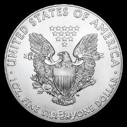 2020 1 oz Silver Eagles (20-Coin MD Premier + PCGS FS Tube) SKU#196105