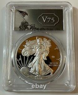2020 End Of World War II V 75th Anniversary American Eagle Gold Silver Coin Pr70