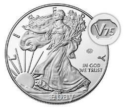 2020 End of World War II 75th Anniversary American Eagle V75 Silver SHIPPED