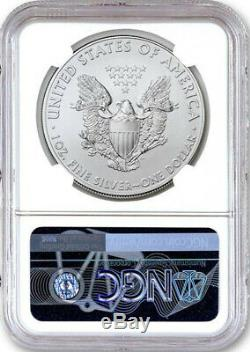 2020 (P) $1 American Silver Eagle NGC MS70 Emergency Production 1st Day Issue
