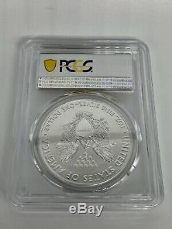 2020 (P) RARE American Silver Eagle PCGS MS70 Emergency Philadelphia