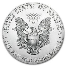 2020-(S) 1 oz American Silver Eagles (20-Coin MintDirect Tube) SKU#223805
