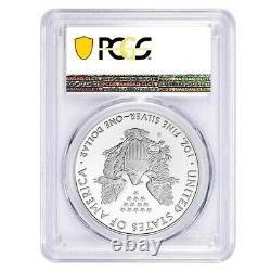 2020-S 1 oz Proof Silver American Eagle PCGS PF 70 DCAM FDOI (SF Label)