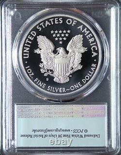 2020 S American Silver Eagle PCGS PF70DCAM First Strike