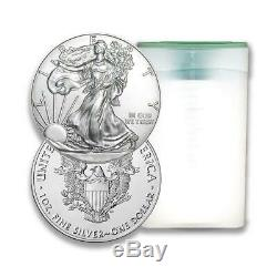 2020 US Silver Eagle 1 oz Coin Lot of 100