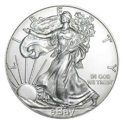 2020 US Silver Eagle 1 oz Coin Lot of 10