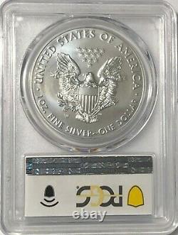 2020 W $1 Pcgs Sp70 Burnished Silver American Eagle. 999 Fine Silver Blue Label