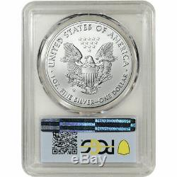 2020-W American Silver Eagle Burnished PCGS SP70 First Strike