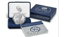 2020 W END of WORLD WAR II 75th ANNIVERSARY AMERICAN EAGLE v75.999 SILVER PROOF
